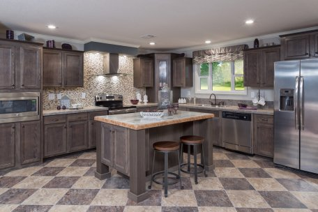 Modular Home Kitchen in Central, TX, Modular Homes Austin