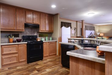 Modern Modular Home Kitchen