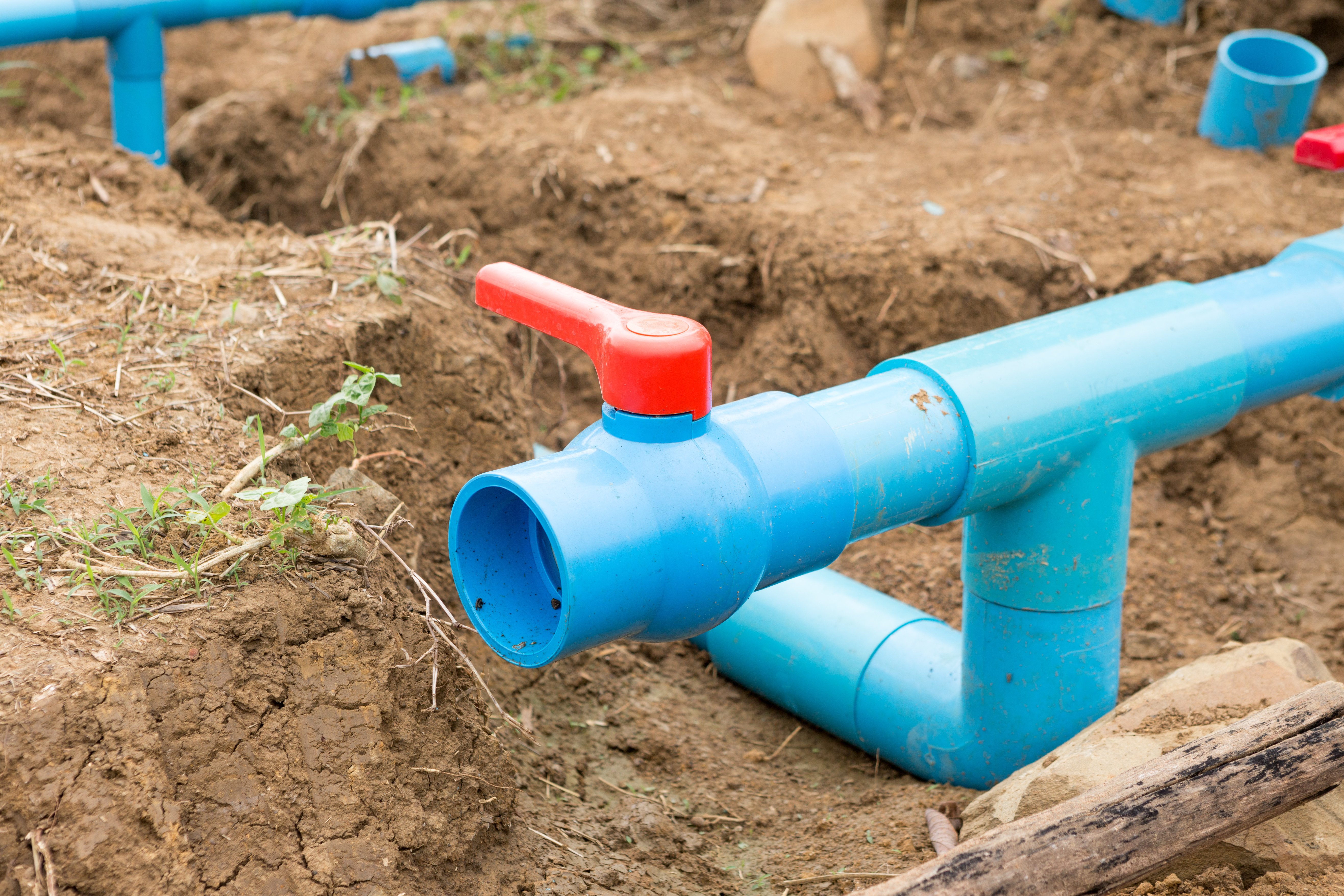 Modular Home Septic System in Austin, TX